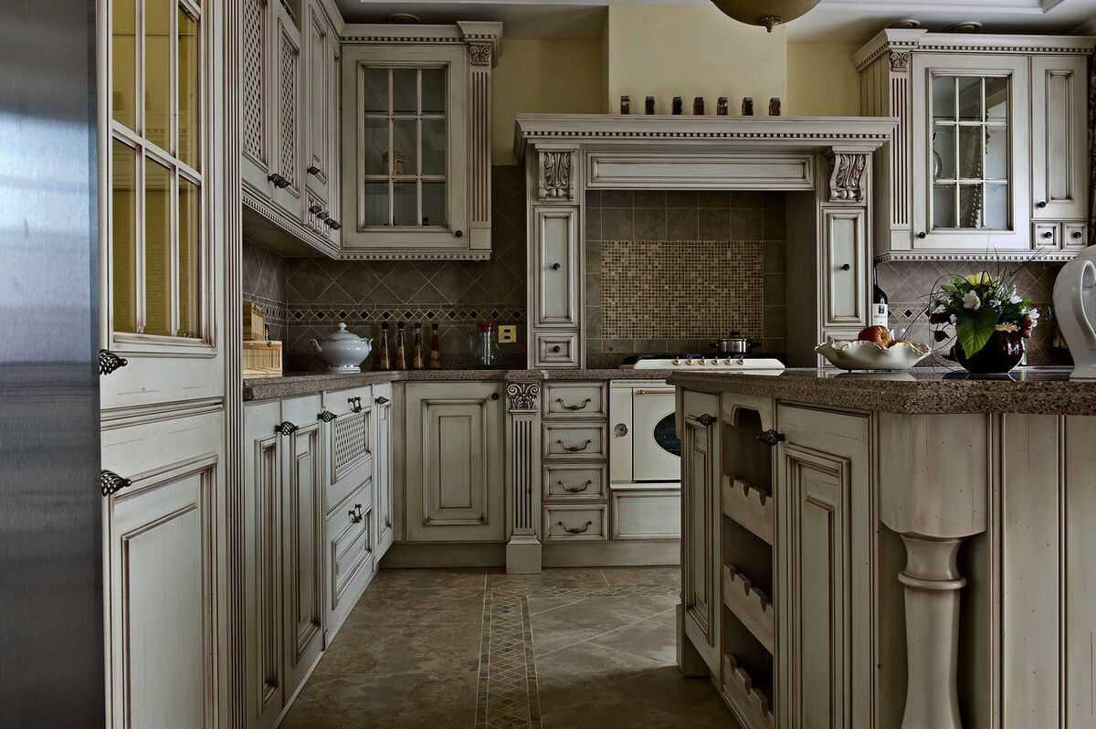классические кухни своими руками фото как разводил все