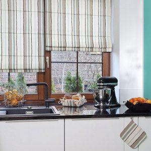 Шторы на кухню 2020 года: ТОП-200 фото лучших новинок дизайна. Реальные примеры красивого сочетания современных штор в интерьере кухни